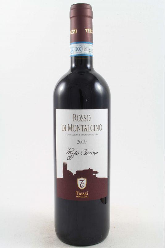 """Tiezzi - Rosso Di Montalcino """"Poggio Cerrino"""" 2019 Ml. 750 - Divine Golosità Toscane"""