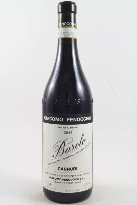 Giacomo Fenocchio - Barolo Cannubi 2016 Ml. 750 - Divine Golosità Toscane