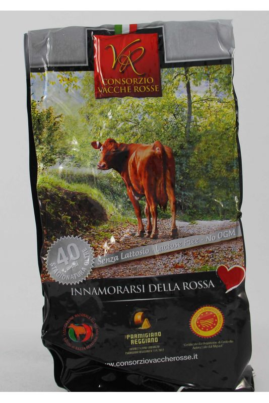Parmigiano Della Vacche Rosse Reggiana 40 Mesi Kg. 1,05 Divine Golosità Toscane