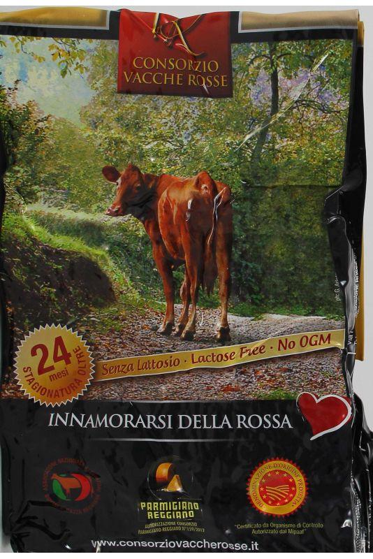 Parmigiano Della Vacche Rosse Reggiana 24 Mesi Gr. 0,568 Divine Golosità Toscane