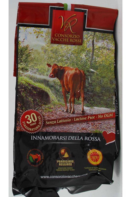 Parmigiano Della Vacche Rosse Reggiana 30 Mesi Gr. 540 Divine Golosità Toscane