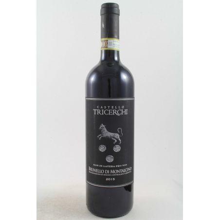 Casanova Tricerchi - Brunello Di Montalcino 2015 Ml. 750 - Divine Golosità Toscane