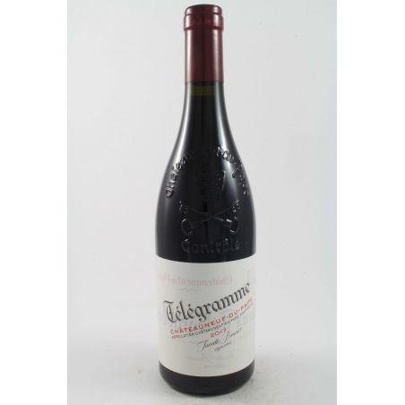 Vieux Telegraphe - Chateauneuf Du Pape Telegramme Rouge 2018 Ml. 750 Divine Golosità Toscane