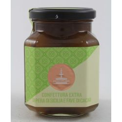 Fiasconaro Confettura Extra Di Pera E Fave Di Cacao Gr. 360 Divine Golosità Toscane