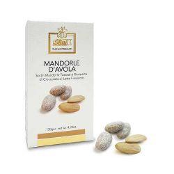 Slitti Mandorle D'Avola E Ricoperte Di Cioccolato Al Latte Finissimo Gr. 120 Divine Golosità Toscane
