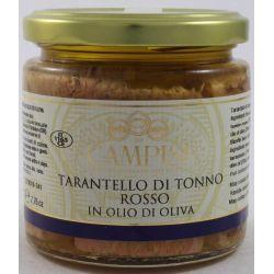 Campisi Tarantello Di Tonno Rosso In Olio D'Oliva Gr. 220 Divine Golosità Toscane