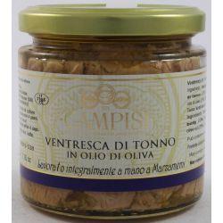 Campisi Ventresca Di Tonno In Olio D'Oliva Gr. 220 Divine Golosità Toscane