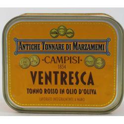 Campisi Ventresca Di Tonno Rosso In Olio D'Oliva Gr. 340 Divine Golosità Toscane