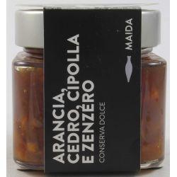 Maida Arancia Cedro Cipolla E Zenzero Gr. 190 Divine Golosità Toscane