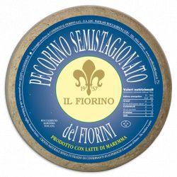 Caseificio Il Fiorino Pecorino Semistagionato Del Fiorini Gr. 500 Divine Golosità Toscane