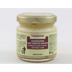 T&C Condiment Based On Butter With White Truffle Gr. 80 Divine Golosità Toscane