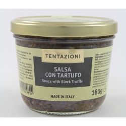 T&C Sauce With Black Truffles Gr. 180 Divine Golosità Toscane