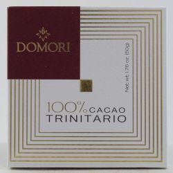 Domori Tavoletta Di Cioccolato 100% Cacao Trinitario Gr. 50 Divine Golosità Toscane
