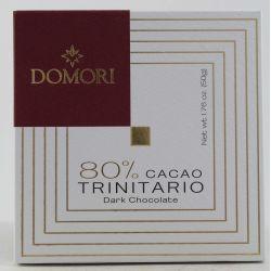 Domori Tavoletta Di Cioccolato 80% Cacao Trinitario Gr. 50 Divine Golosità Toscane