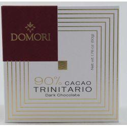 Domori Tavoletta Di Cioccolato 90% Cacao Trinitario Gr. 50 Divine Golosità Toscane