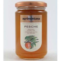 Agrimontana Confettura Extra Pesche Gr. 350 Divine Golosità Toscane