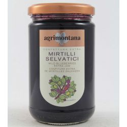 Agrimontana Confettura Extra Di Mirtilli Selvatici Gr. 350 Divine Golosità Toscane
