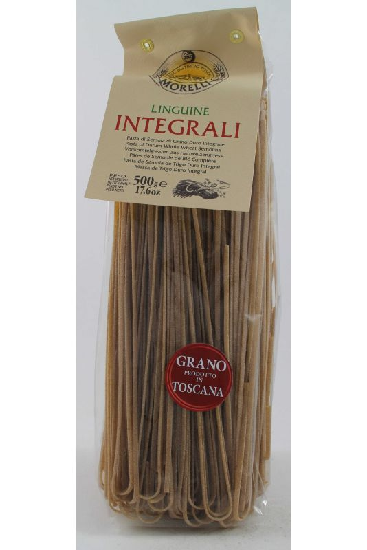 Antico Pastificio Morelli Linguine Integrali Gr. 500 Divine Golosità Toscane