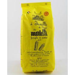 Pasta Martelli Durum Wheat Semolina Fusilli Of Pisa Gr. 500 Divine Golosità Toscane