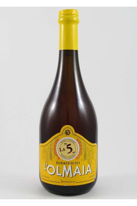 L'Olmaia - Birra Chiara La 5 Ml. 750 Divine Golosità Toscane