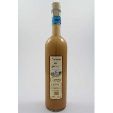 Il Convento - Liquore Crema Di Limoni Ml. 500 Divine Golosità Toscane