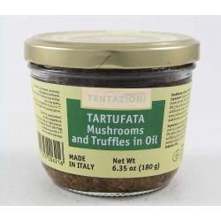 T&C Tartufata Mushrooms And Truffles In Oil Gr. 180 Divine Golosità Toscane