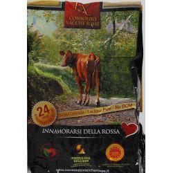 Parmigiano Della Vacche Rosse Reggiana 24 Mesi Kg. 1,07 Divine Golosità Toscane