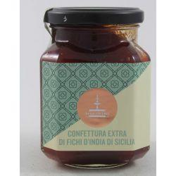 Fiasconaro Extra Jam Sicilian Prickly Pear Gr. 360 Divine Golosità Toscane