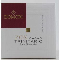 Domori Tavoletta Di Cioccolato 70% Cacao Trinitario Gr. 50 Divine Golosità Toscane