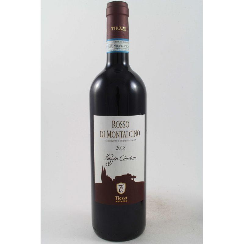 Tiezzi - Poggio Cerrino Rosso Di Montalcino 2018 Ml. 750 Divine Golosità Toscane