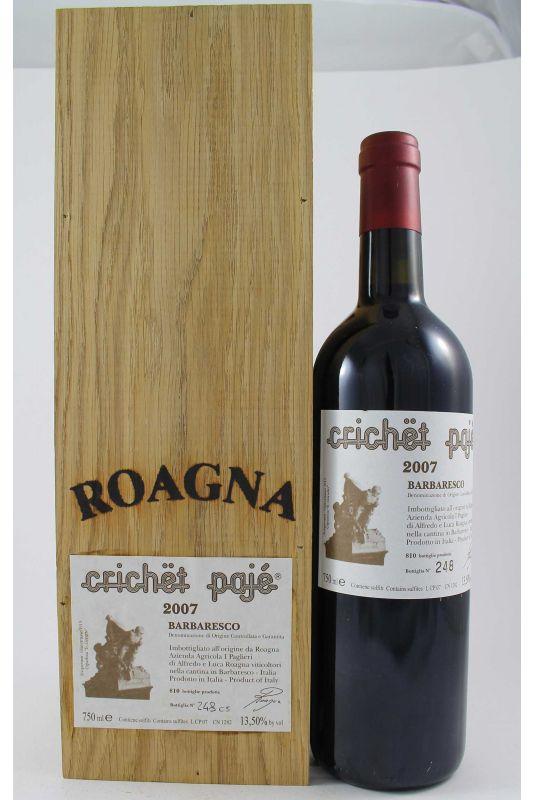 Roagna - Barbaresco Crichet Paje 2007 Ml. 750 Divine Golosità Toscane