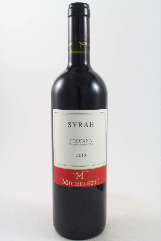 Micheletti - Syrah 2018 Ml. 750 - Divine Golosità Toscane
