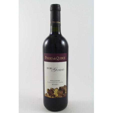 Poggio alle Querce - Bolgheri Sor Guido 2012 Ml. 750 Divine Golosità Toscane
